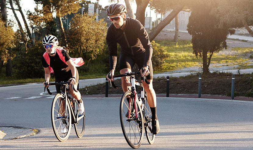 Olika typer av cykelkläder